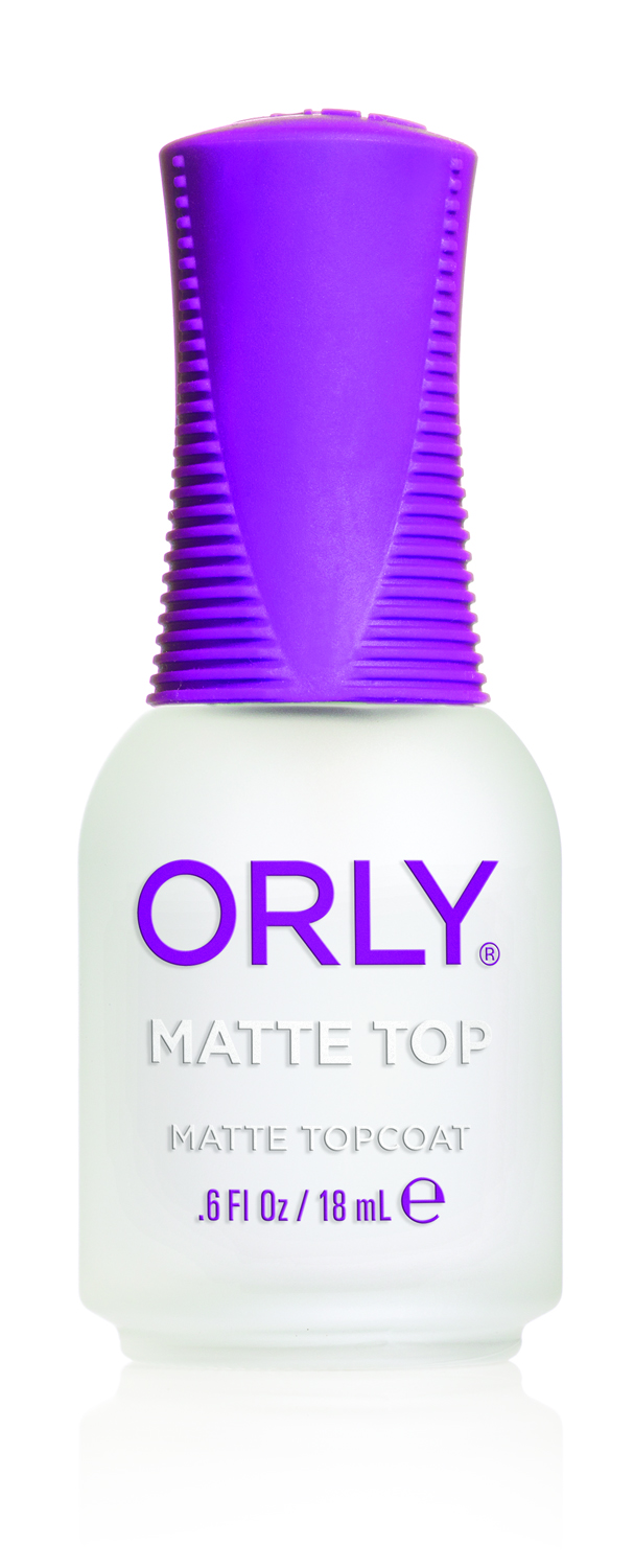 Orly matte top for Salon 500 orly