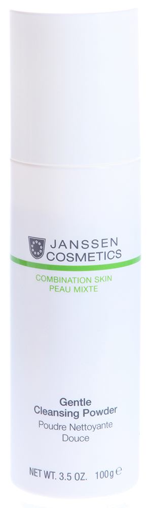 JANSSEN Пудра очищающая мягкая / Gentle Cleansing Powder COMBINATION SKIN 100 г