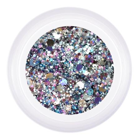 Купить PATRISA NAIL Гель для дизайна ногтей, серебро микс / Gel Glanz Inium 5 г