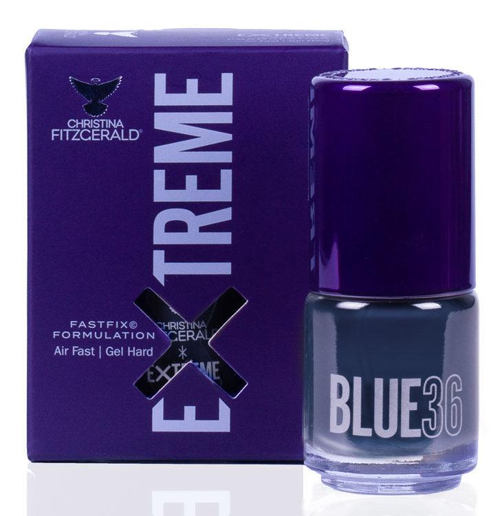 Купить CHRISTINA FITZGERALD Лак для ногтей 36 / BLUE EXTREME 15 мл, Синие