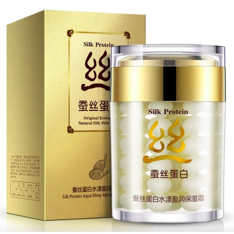 Купить BIOAQUA Крем увлажняющий для лица / Silk Protein 60 г