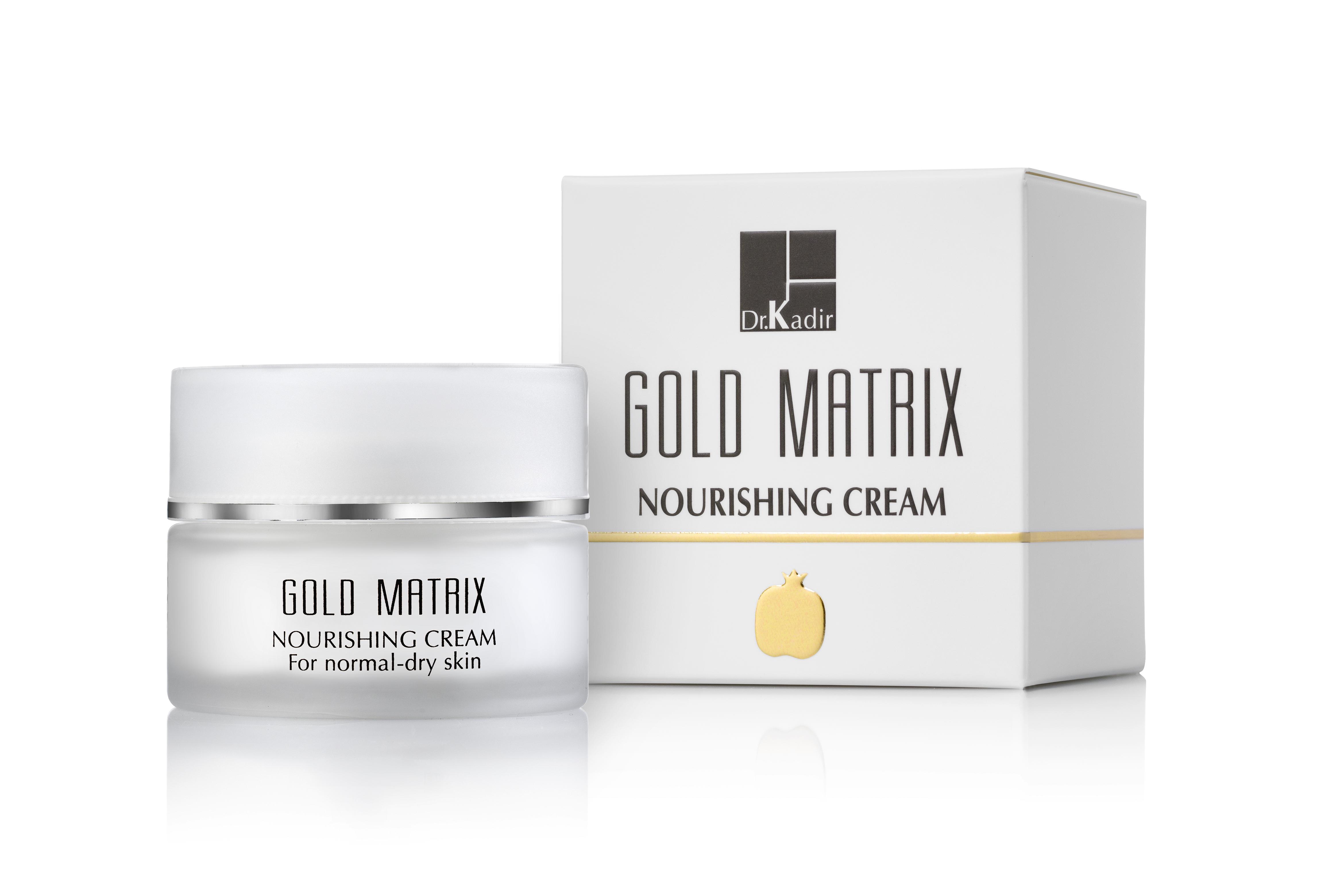 где купить DR KADIR Крем питательный для нормальной/сухой кожи / Gold Matrix home care 50мл по лучшей цене