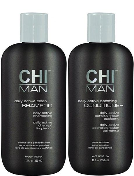 CHI Набор мужской (шампунь 350 мл + кондиционер 350 мл) / CHI MAN -  Наборы