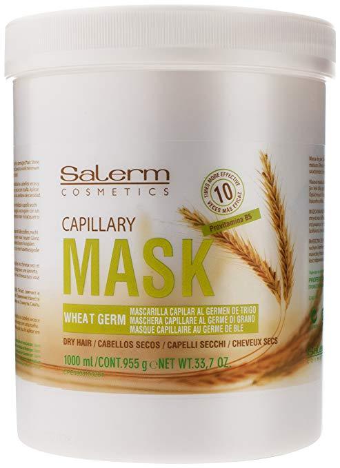 Купить SALERM COSMETICS Маска питательная увлажняющая для волос / Wheat Germ 1000 мл