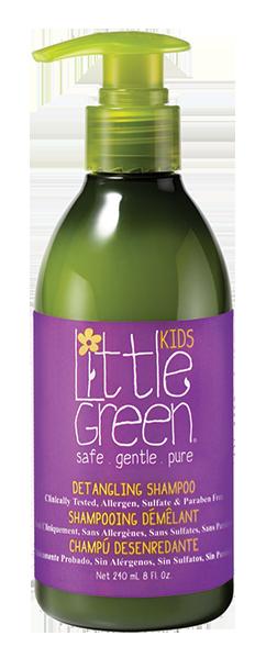LITTLE GREEN Шампунь для облегчения расчесывания и распутывания волос / KIDS 240 мл