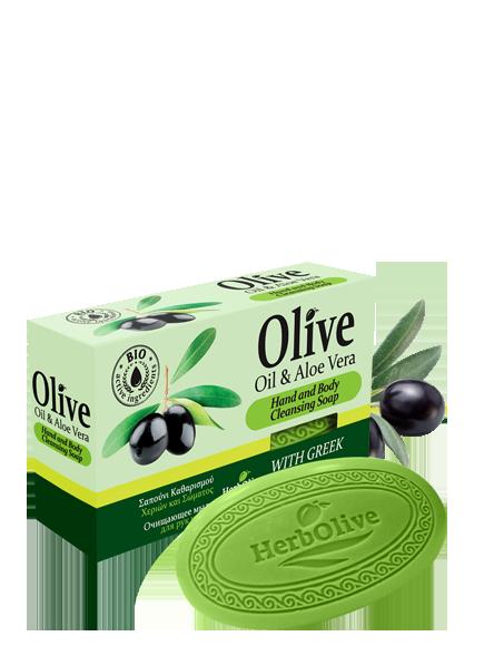 MADIS Мыло оливковое с алоэ-вера / HerbOlive 90 гр