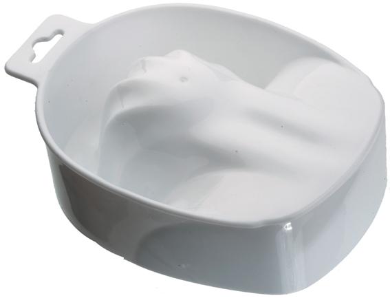 DEWAL PROFESSIONAL Чаша для маникюра, белая