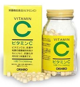 ORIHIRO Витамин С, таблетки 300 шт