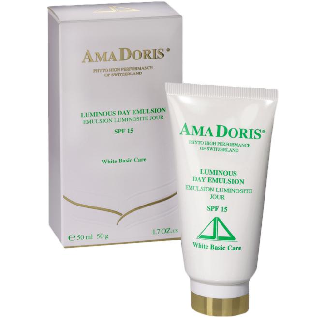 AMADORIS Крем-эмульсия дневной SPF15 50млКремы<br>Крем создан на основе высокоэффективного натурального комплекса растительных веществ, содержащего восстанавливающие витамины. Разработан для смешанной и жирной кожи, склонной к различным воспалениям. Контролирует и регулирует деятельность сальных желез. Очищающий комплекс способствует восстановлению кожи и возвращает ей естественное сияние и ровный цвет. Крем содержит солнцезащитные фильтры, защищающие кожу от вредного воздействия солнечных лучей. Благодаря своей легкой структуре является отличной основой для дальнейшего нанесения макияжа. Не оставляет на коже жирного блеска. Способ применения: наносить утром на очищенную и обработанную тоником кожу лица лёгкими круговыми движениями до полного впитывания.<br><br>Вид средства для лица: Очищающий<br>Время применения: Дневной