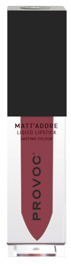 Купить PROVOC Помада жидкая матовая для губ 06 / MATTADORE Liquid Lipstick Wisdom 5 г