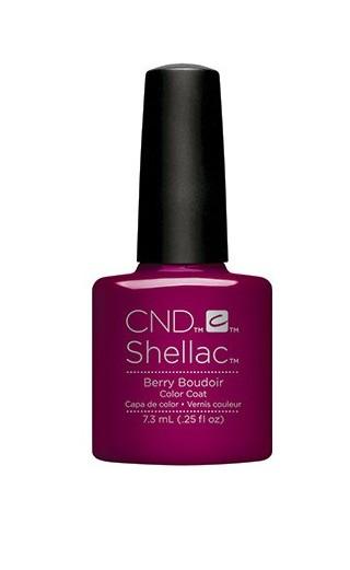 CND 91596 покрытие гелевое Berry Boudoir / SHELLAC 7,3мл cnd 083 покрытие гелевое bare chemise shellac 7 3мл