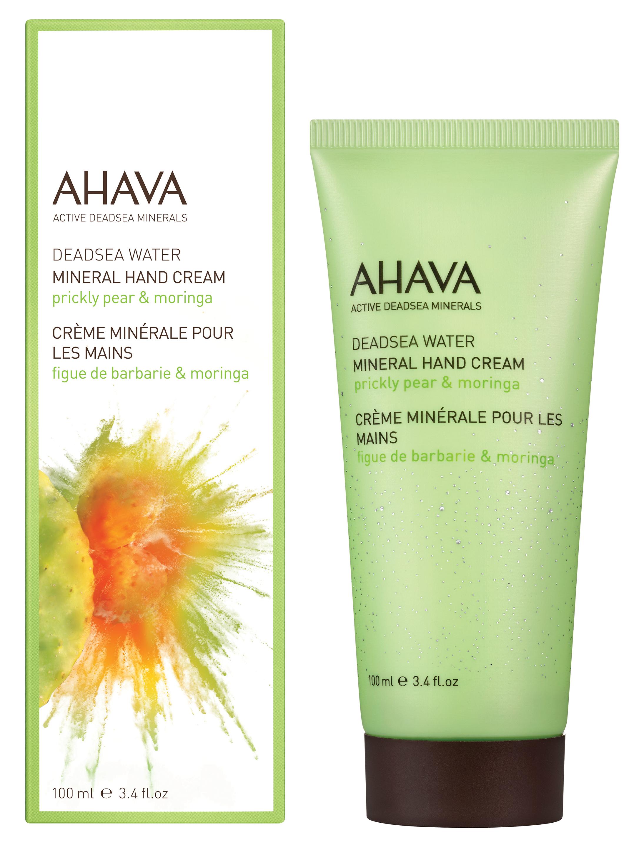 AHAVA Крем минеральный для рук, опунция и моринга / Deadsea Water 100 мл