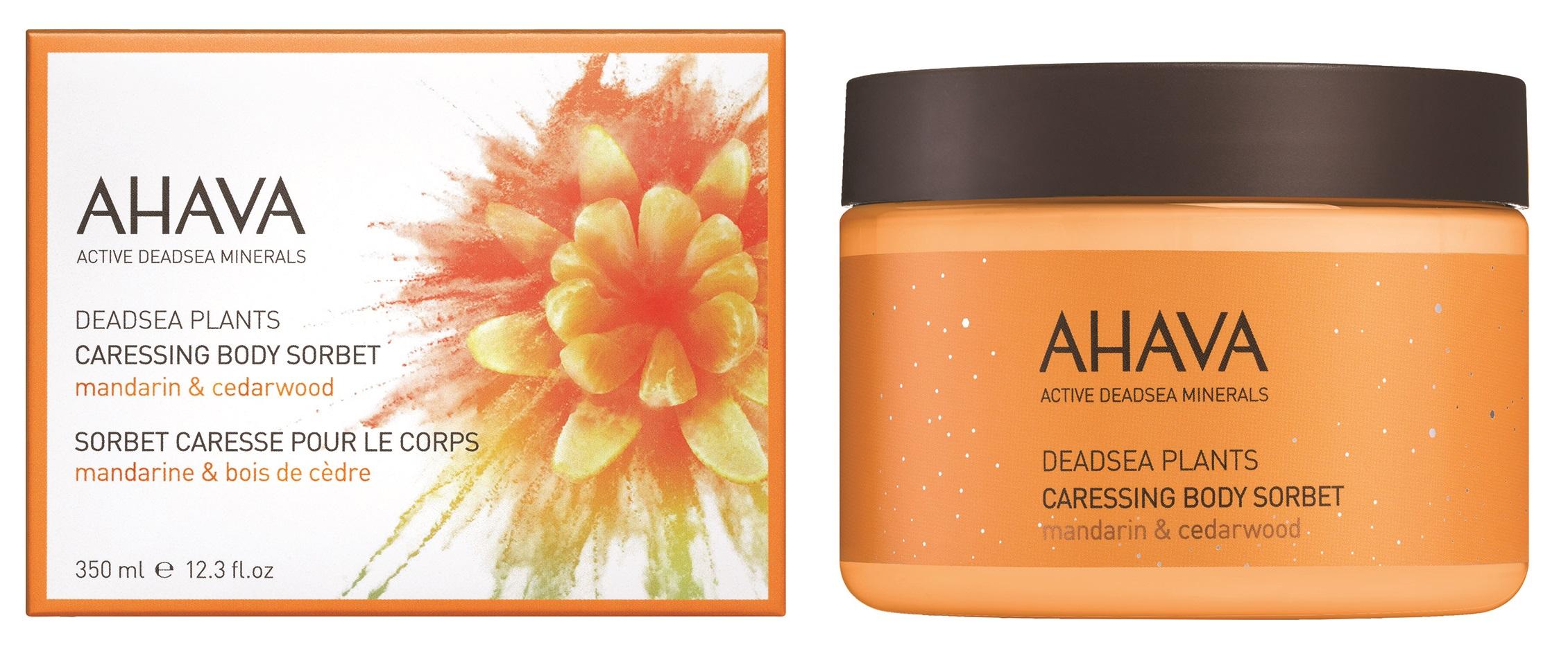 AHAVA Крем нежный для тела, мандарин и кедр / Deadsea Plants 350 мл -  Кремы