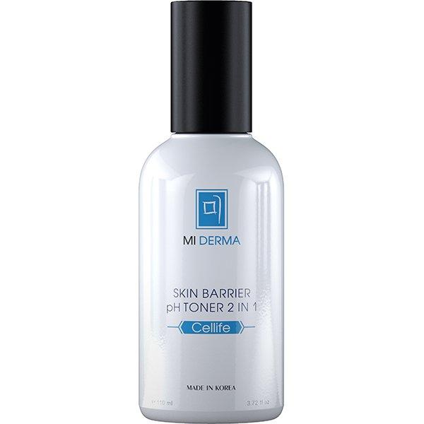 NOLLAM LAB Тоник очищающий для лица / Mi Derma Cellife Skin Barrier pH Toner, 110 мл -  Тоники
