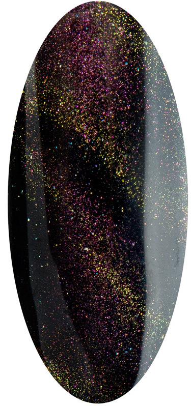 Купить IRISK PROFESSIONAL 02 гель-лак для ногтей Кошачий глаз / Maxi D Cat Eye 10 мл, Черные