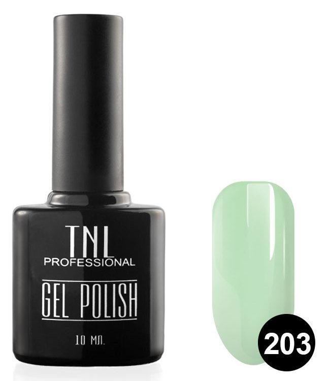 TNL PROFESSIONAL 203 гель-лак для ногтей, сладкая мята 10 мл фото