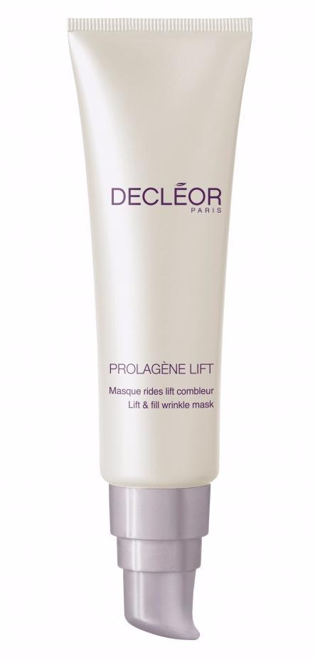 DECLEOR Маска подтягивающая Ирис / PROLAGENE LIFT IRIS 30млМаски<br>Эксперт-маска с текстурой освежающего крем-геля предназначена для локального воздействия на лицевые морщины. Эффективно разглаживает, заполняет морщины на поверхности и изнутри, заметно и на длительное время. РЕЗУЛЬТАТ: упругость и тонус кожи восстановлены. Морщины разглажены и заполнены заметно и на длительное время. Преимущества: - Мгновенный эффект благодаря действию гиалуроновых сфер в сочетании с гиалуроновыми кислотами с крупными и мелкими молекулами: морщины мгновенно разглаживаются и становятся менее заметными. - Долговременный эффект благодаря комплексу для заполнения морщин Lift Combleur, который, вместе с комплексом L-Proline, способствует клеточному обмену и разравниванию морщин. - Морщины  заполнены  на поверхности кожи и по всей глубине, мгновенный эффект, который остается надолго. - Не содержит минерального масла, красителей и отдушек. Активные ингредиенты: эфирное масло ириса, комплекс L-proline, гиалуроновые кислоты с крупными и мелкими молекулами, подтягивающий комплекс Lift combleur, гиалуроновые сферы. Способ применения: 1-2 раза в неделю нанести на очищенную кожу непосредственно в области морщин. Оставить на 10 минут. Остатки средства втереть круговыми движениями кончиками пальцев.<br><br>Объем: 30 мл<br>Назначение: Дряблость