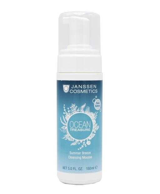 Купить JANSSEN COSMETICS Мусс очищающий для лица Летний бриз / OCEAN TREASURE 150 мл