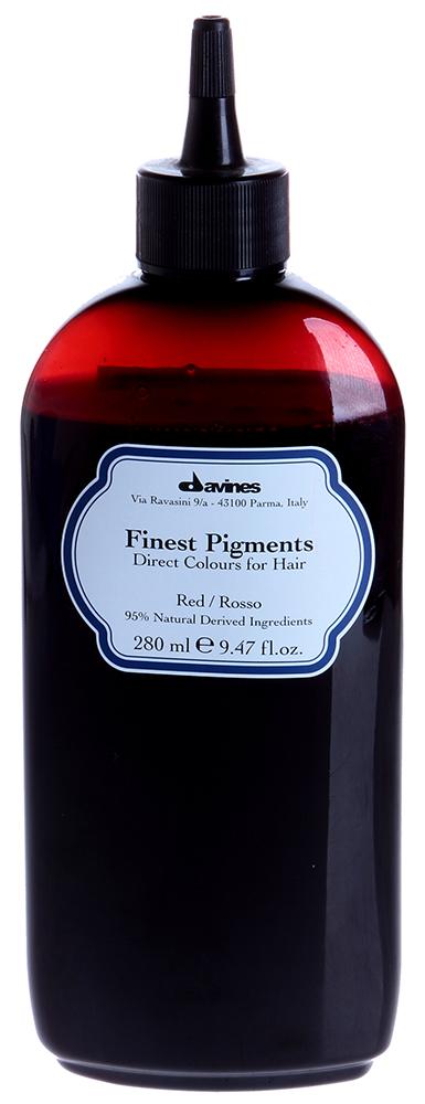 DAVINES SPA Краска для волос Прямой пигмент Red-Красный / FINEST PIGMENTS 280мл