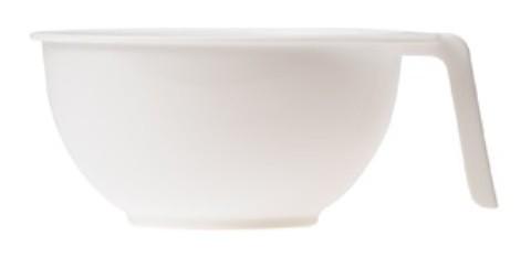 SIBEL Чаша S (10) для краски с ручкой белая (15211-01)