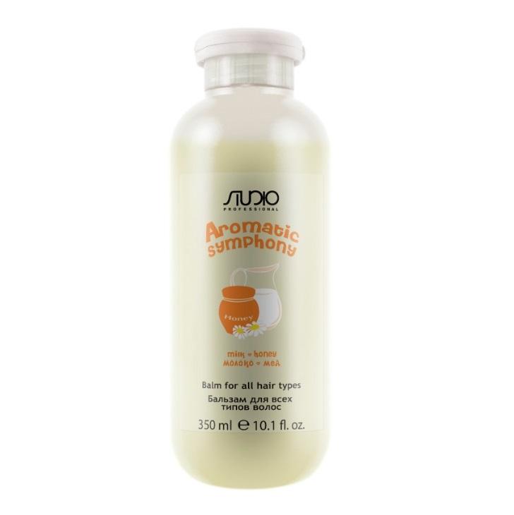 Купить KAPOUS Бальзам для всех типов волос Молоко и мед / Aromatic Symphony 350 мл