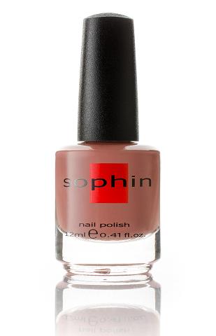 SOPHIN Лак для ногтей, бежево-розовый кремовой текстуры 12млЛаки<br>Коллекция лаков SOPHIN очень разнообразна и соответствует современным веяньям моды. Огромное количество цветов и оттенков дает возможность создать законченный образ на любой вкус. Удобный колпачок не скользит в руках, что облегчает и позволяет контролировать процесс нанесения лака. Флакон очень эргономичен, лак легко стекает по стенкам сосуда во внутреннюю чашу, что позволяет расходовать его полностью. И что самое главное - форма флакона позволяет сохранять однородность лаков с блестками, глиттером, перламутром. Кисть средней жесткости из натурального волоса обеспечивает легкое, ровное и гладкое нанесение. Big5free! Активные ингредиенты. Состав: ethyl acetate, butyl acetate, nitrocellulose, acetyl tributyl citrate, isopropyl alcohol, adipic acid/neopentyl glycol/trimellitic anhydride copolymer, stearalkonium bentonite, n-butyl alcohol, styrene/acrylates copolymer, silica, benzophenone-1, trimethylpentanedyl dibenzoate, polyvinyl butyral.<br>