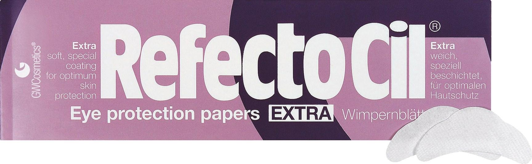 REFECTOCIL Салфетки под ресницы / Eye Protection Papers Extra 80 шт - Салфетки