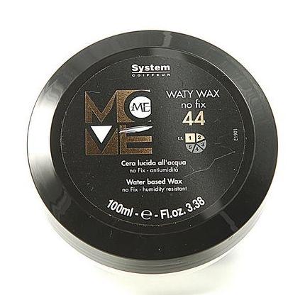 DIKSON Воск для моделирования причесок / WATY WAX MOVE ME 100млВоски<br>Замечательное средство для создания чёткой, гладкой текстуры на выпрямленных волосах. Придаёт выразительный блеск и подчёркивает интенсивность цвета волос. Позволяет моделировать текстуру волос разной длины. Является завершающим этапом в создании причёски. Рекомендуется как для мужских, так и для женских причёсок. Активные ингредиенты: Пропиленгликоль, лимонен. Способ применения: Небольшое количество воска растереть в ладонях и смоделировать текстуру, придавая причёске завершённый вид.<br>