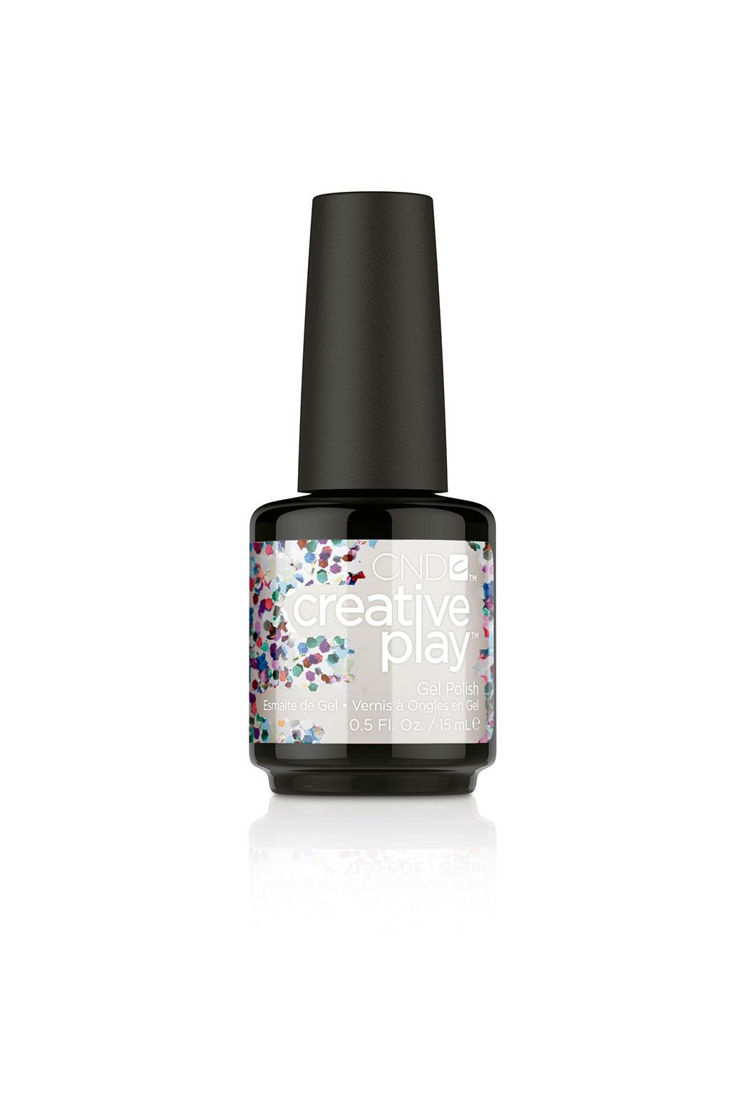 CND 449 гель-лак для ногтей / Glittabulous Creative Play Gel 15 мл cnd топ top coat xpress5 15 мл