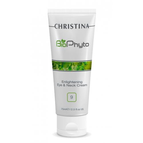 Купить CHRISTINA Крем осветляющий для кожи вокруг глаз и шеи (шаг 9) / Bio Phyto Enlightening Eye and Neck Cream 75 мл
