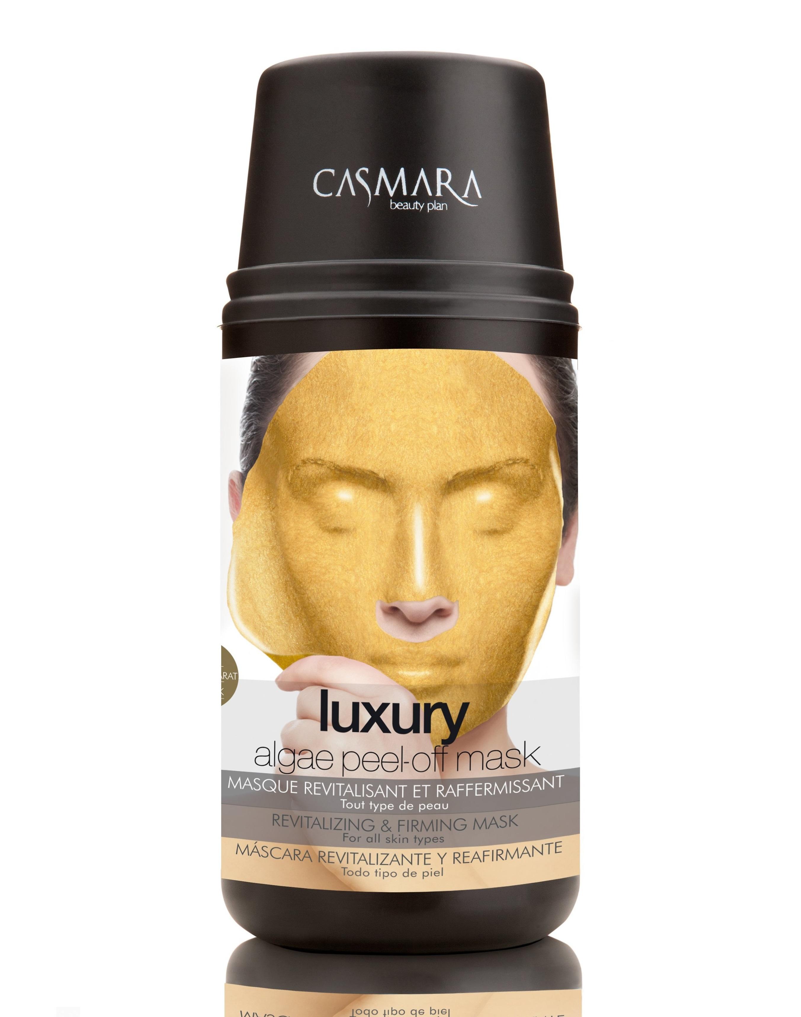 CASMARA Набор Бьюти для лица Люкс (оживляющая и укрепляющая альгинатная маска 1 шт, оживляющий крем для лица 4 мл) - Наборы