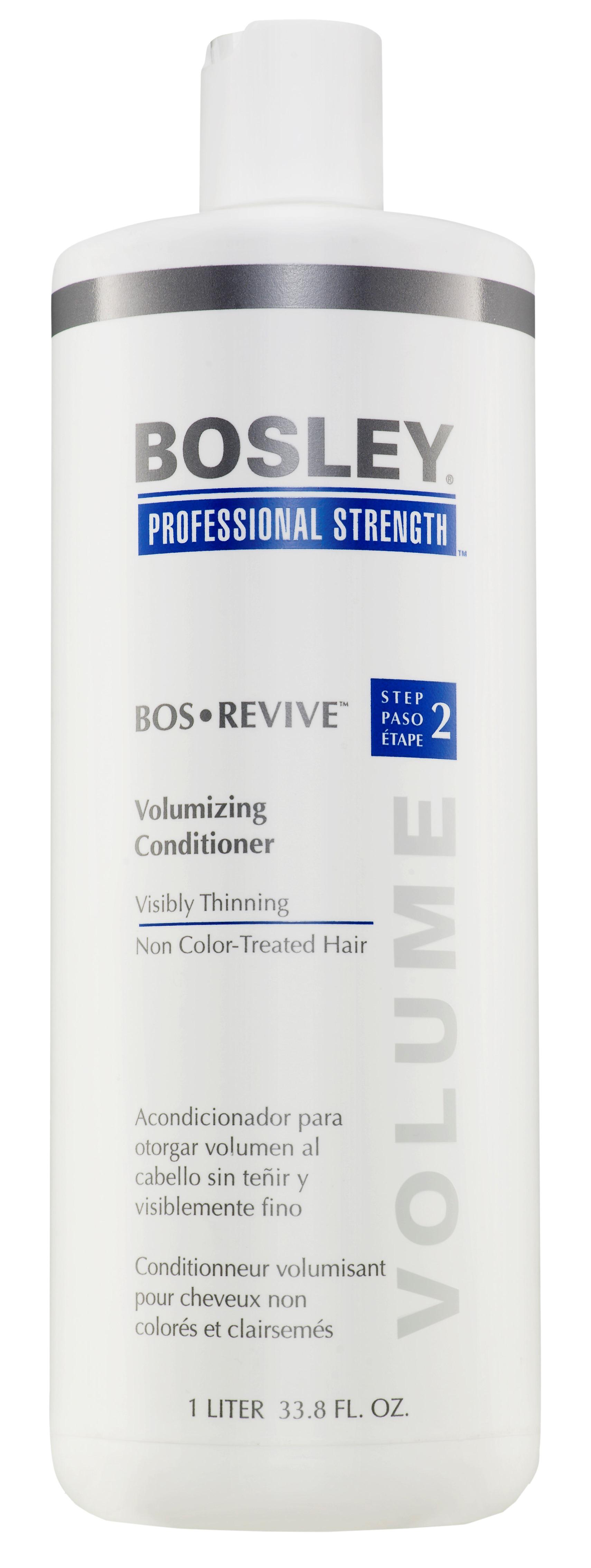 BOSLEY Кондиционер для объема истонченных неокрашенных волос / ВОS REVIVE (step 2) 1000мл
