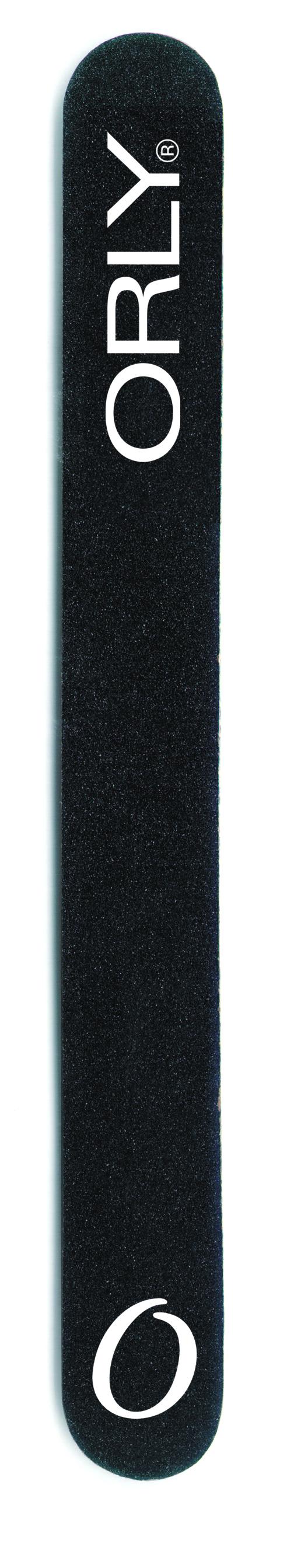 ORLY Пилка с абразивностью 180 ед. / Black Board.