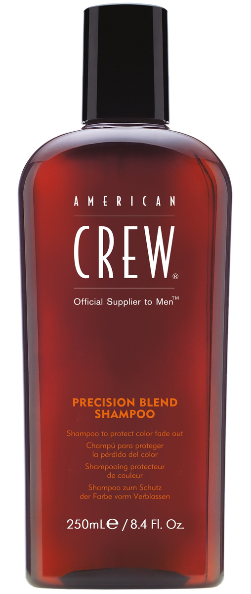 AMERICAN CREW Шампунь для окрашенных волос, для мужчин / Precision Blend АС 250 мл