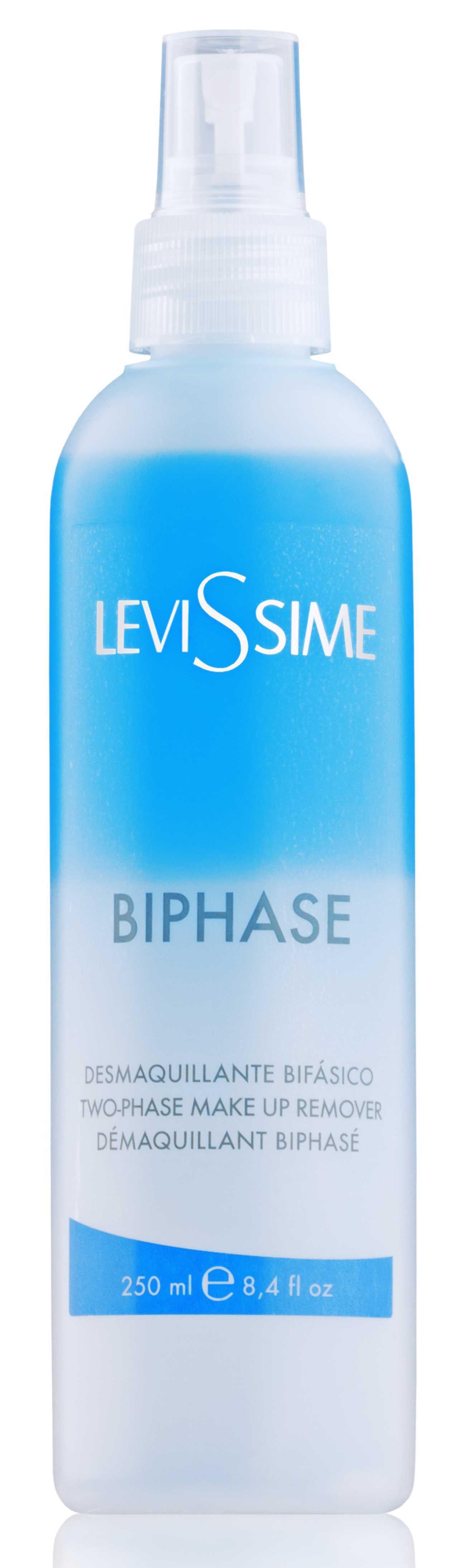 LEVISSIME Средство двухфазное для удаления макияжа / Bi-Phase Make-Up Remover 250 мл - Лосьоны