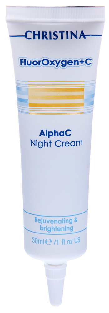 CHRISTINA ���� ����������� ������ / Alpha C Night Cream FLUOROXYGEN+C 30��