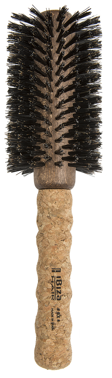 IBIZA HAIR Щетка круглая для укладки волос, диаметр 65 мм (пробка) - Брашинги