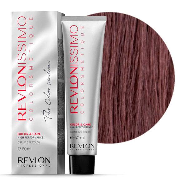 REVLON Professional 5.5 краска для волос, светло-коричневый махагон / RP REVLONISSIMO COLORSMETIQUE 60 мл revlon краситель перманентный 7 44 блондин гипер медный rp revlonissimo colorsmetique 60 мл