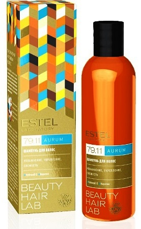 ESTEL PROFESSIONAL Шампунь для волос / BEAUTY HAIR LAB AURUM 250 мл estel шампунь beauty hair lab антистресс для волос 250 мл