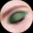 AVANT scene Тени микропигментированные, палитра зелено-красная, оттенок B002
