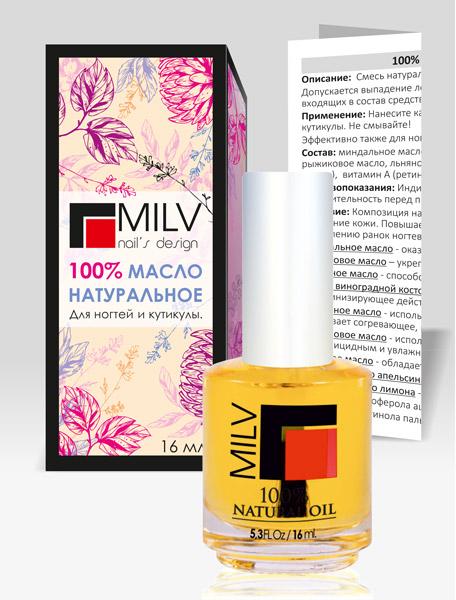MILV Масло натуральное / 100% Natural Oil 16мл