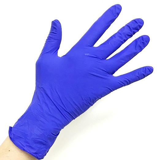 SAFE & CARE Перчатки нитриловые фиолетовые S Safe & Care 200 шт ЧИСТОВЬЕ