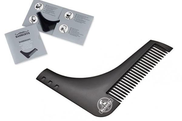 SIBEL Гребень для коррекции формы бороды / Barburys Barberang