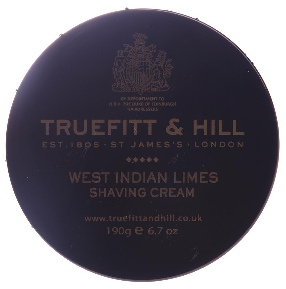 TRUEFITT HILL Крем для бритья (в банке) West Indian Limes 190гр