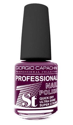 Купить GIORGIO CAPACHINI 29 лак для ногтей, ягодный джем / 1-st Professional 16 мл, Фиолетовые