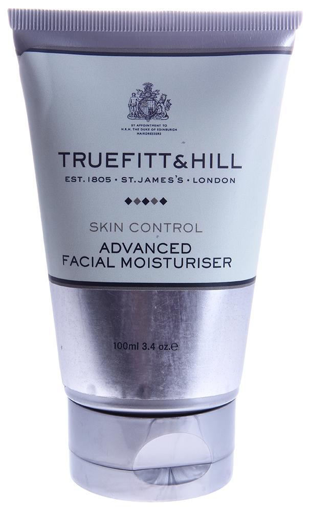 TRUEFITT HILL Средство увлажняющее для лица (интенсивного действия) / Advanced Facial Moisturizer 100млЛицо<br>Легкий, увлажняющий лосьон для мужчин. Входящие в состав компоненты максимально увлажняют кожу. Быстро впитывается в кожу, не оставляет налета. Кожа становится мягкой, гладкой и здоровой. Подходит для всех типов кожи. Способ применения: Нанести на кожу, дать впитаться.<br><br>Объем: 100<br>Пол: Мужской