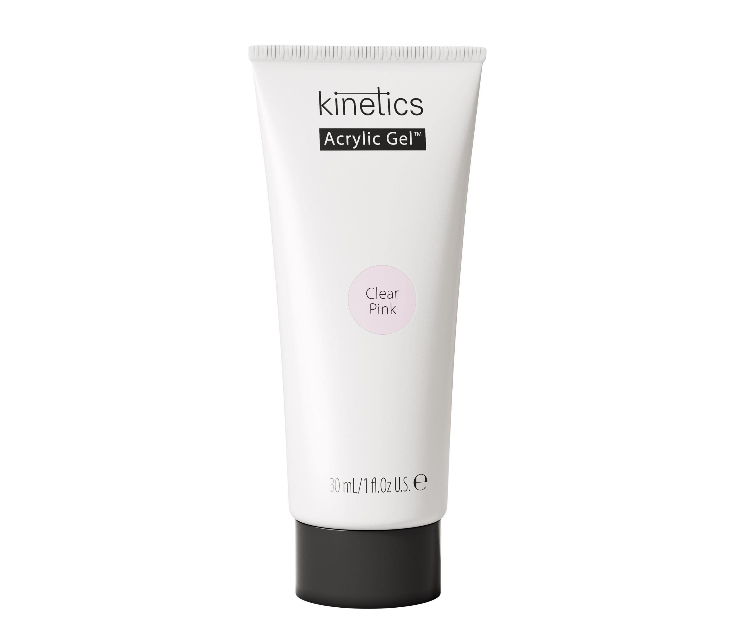 Купить KINETICS Гель для наращивания ногтей Акрилик, прозрачно-розовый / Acrylic Gel Clear Pink 30 мл
