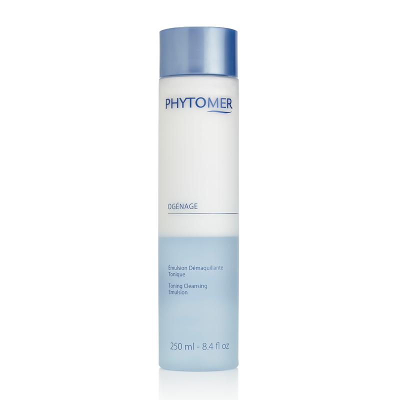 PHYTOMER Эмульсия очищающая тонизирующая / OGENAGE TONING CLEANSING EMULSION 250мл phytomer скраб для тела toning body scrab with marine salt crystals 150мл
