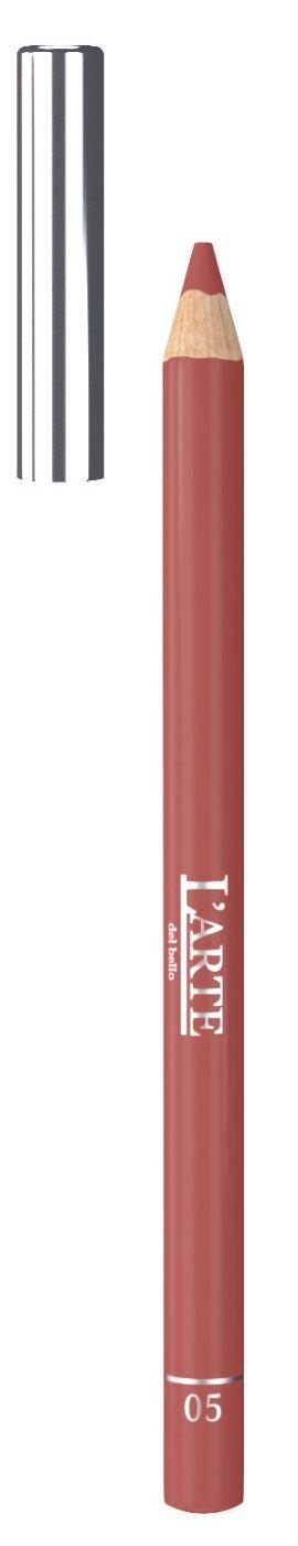 LARTE DEL BELLO Карандаш для губ, тон 05 / PROFESSIONALE 1,12 г