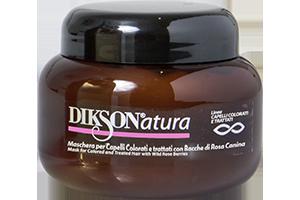 DIKSON Маска с ягодами красного шиповника для окрашенных и химически обработанных волос / MASK WITH ROSE